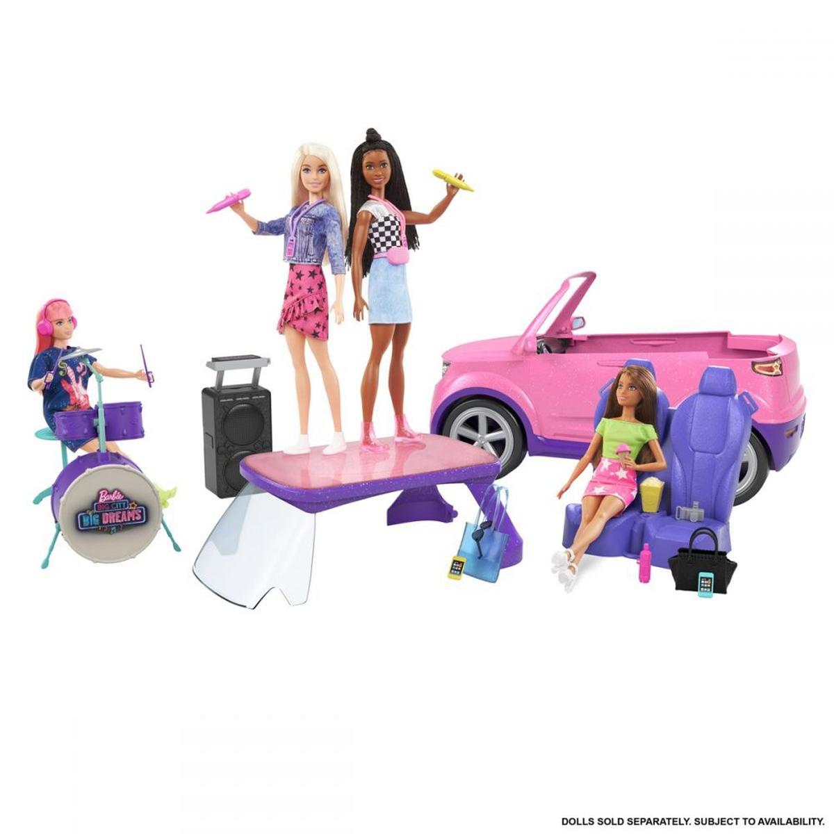 Barbie Big City Big Dreams - Transforming SUV