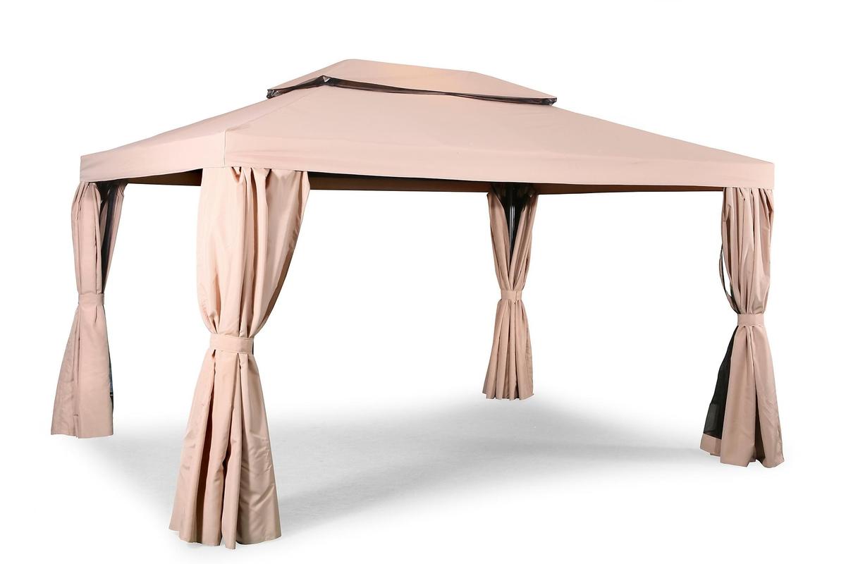 TopDesign Luxury hagepaviljong / telt 3x4m
