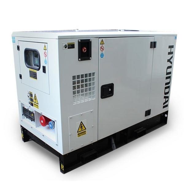 Bilde av HYUNDAI DHY11KSEm Diesel strømaggregat 11kVA