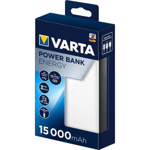 Bilde av VARTA Energy Powerbank 15000mAh USB-C