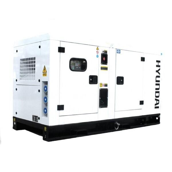 Bilde av HYUNDAI DHY34KSE Diesel strømaggregat 34,4kVA