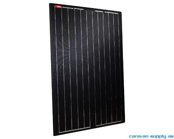 Bilde av Solcellepanel NDS LIGHTSOLAR BLACK m/MPPT 105W