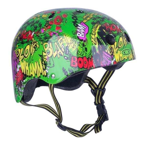 Bilde av Freestyle hjelm for barn WORKER Komik grønn