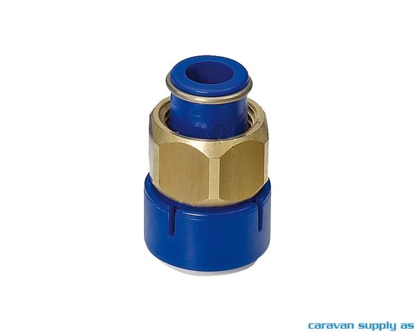Bilde av Kobling UniQuick Ø12mm rett m/1/2