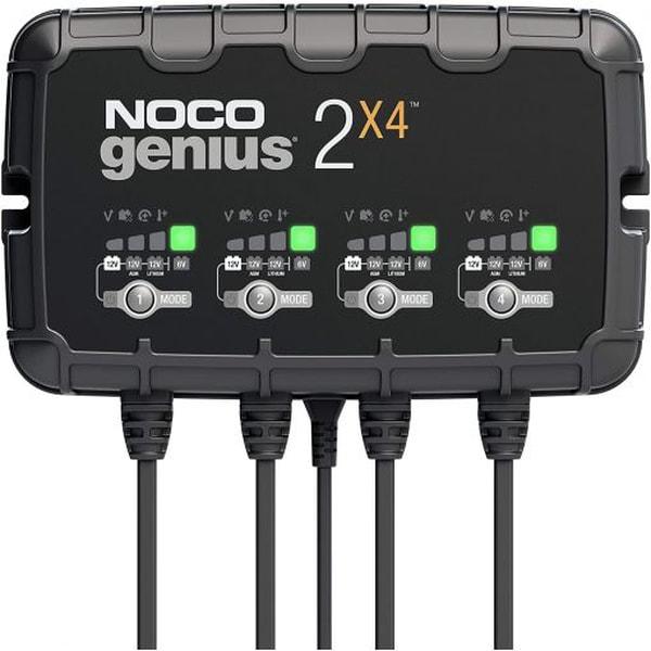 Bilde av NOCO Elektronisk Batterilader 6/12V 4x2A