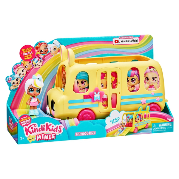 Bilde av KINDI KIDS MINIS buss med dukke
