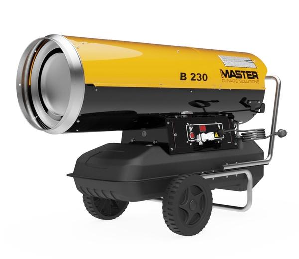 Bilde av MASTER byggtørker 230V 65KW diesel