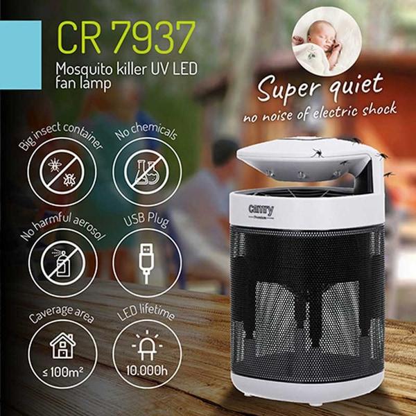 Bilde av Camry CR7937 - Insektlampe UV-LED - USB