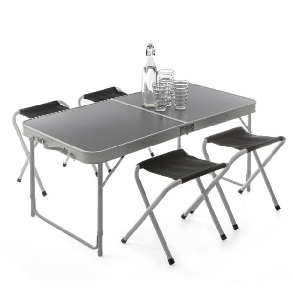 Bilde av Pikniksett bord med 4 krakker sammenleggbar