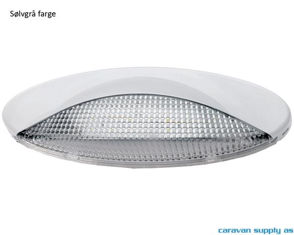 Bilde av Lampe Wave LED 12V sølvgrå