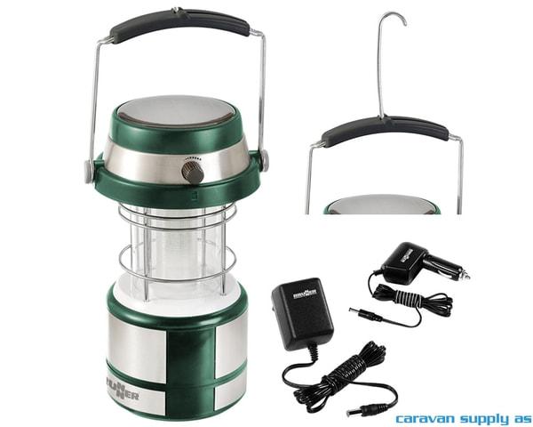 Bilde av Lampe Brunner Gemini LED solcelle/12V/230V