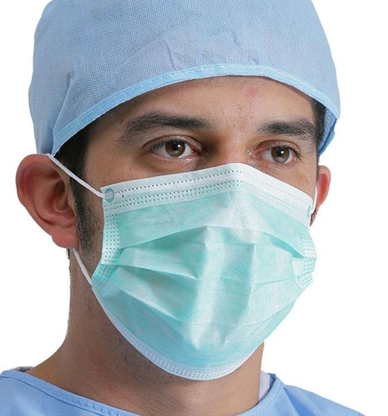 Bilde av 50 pk medisinske munnbind 3 lags type I - Intco