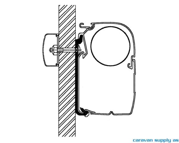 Bilde av Feste Omnistor 5/8-serie flat adapter 400cm