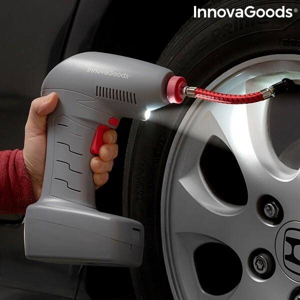 Bilde av InnovaGoods Bærbar Luftkompressor med LED-Lys
