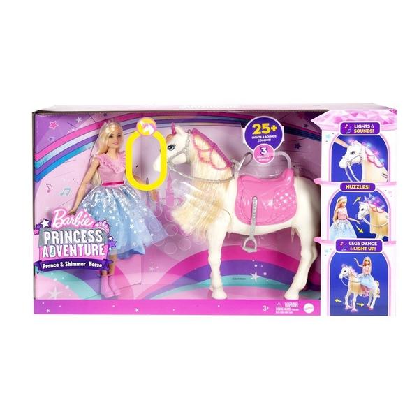 Bilde av Barbie Princess Adventure Feature Horse