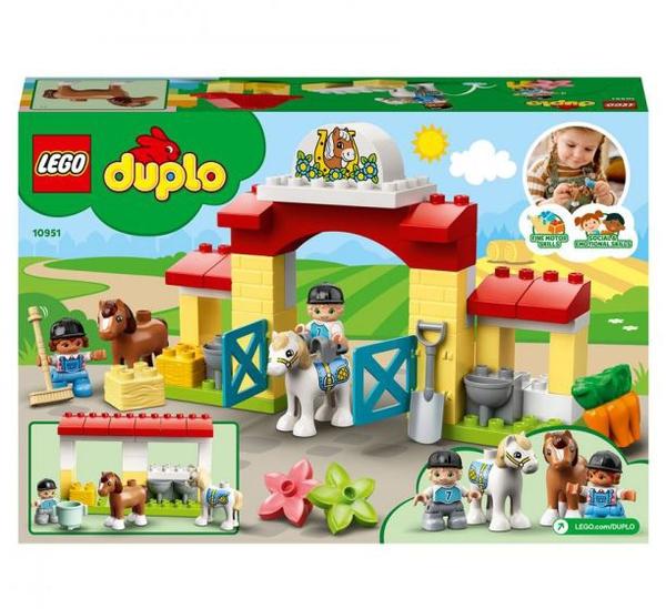 Bilde av  LEGO DUPLO Town 10951 Stall med ponni