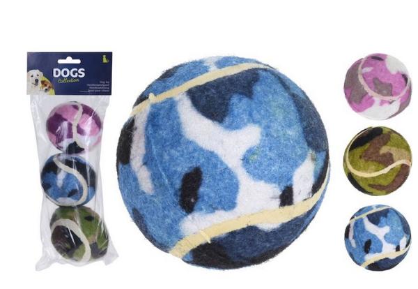Bilde av DOGS Hundeleke Tennisball 3 stk