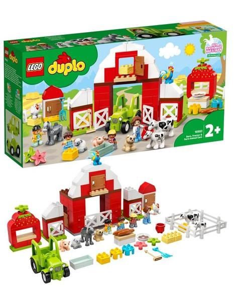 Bilde av LEGO DUPLO Town 10952 Låve, traktor og