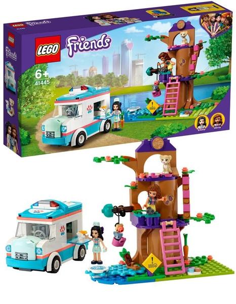 Bilde av LEGO Friends 41445 Dyrlegens sykebil
