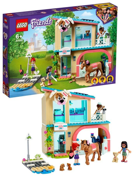 Bilde av LEGO Friends 41446 Heartlake Citys dyreklinikk