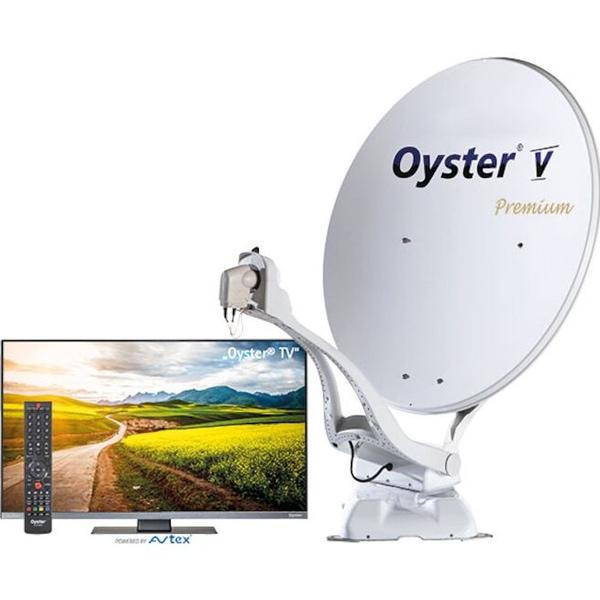 Bilde av Oyster Parabol V 85 Premium m/ 19'' LED-TV