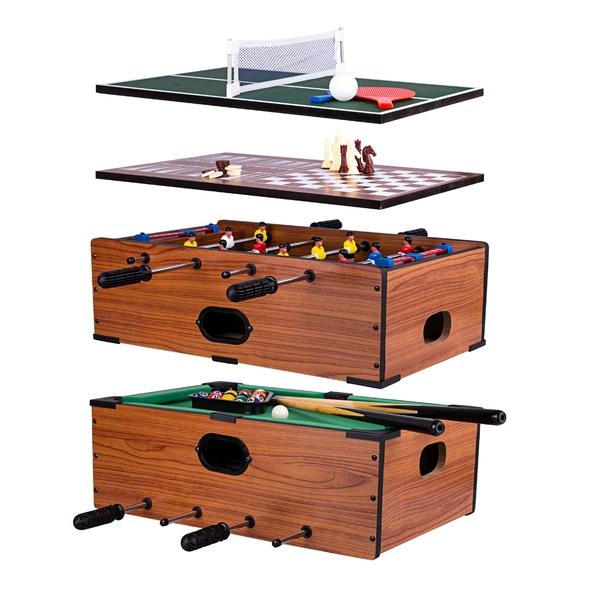 Bilde av Multi spillebord WORKER Mini 5-i-1