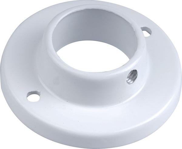 Bilde av Fixxer rørholder rund hvit Ø25mm 2stk