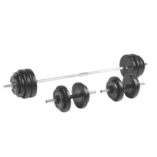 Bilde av inSPORTline Vektstang BS208 med manualer 3-50 kg