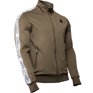 Bilde av Gorilla Wear Wellington Track Jacket - Olive