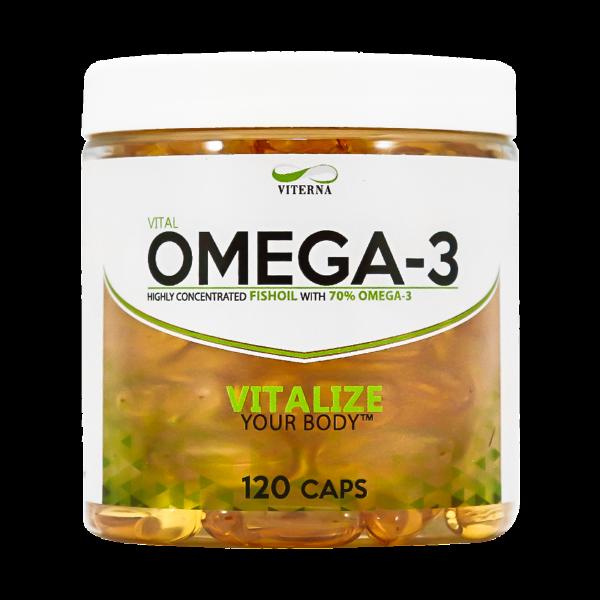Viterna Omega 3 - 120 caps