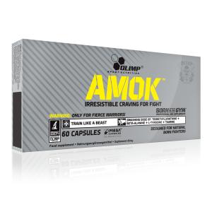 Bilde av Olimp Amok Power 60 caps - Preworkout