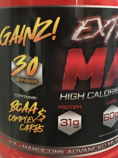 Extreme Mass - 3 KG Hardcore Mass Gainer