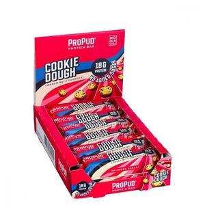 Bilde av ProPud Protein Bar 55gx12stk - Cookie Dough