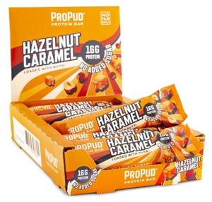 Bilde av ProPud Protein Bar 55gx12stk - Hazelnut Caramel