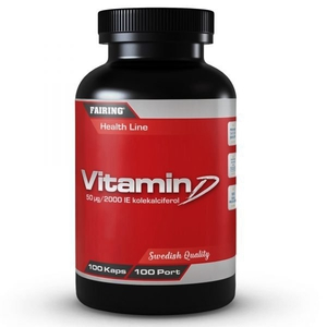 Bilde av Fairing Vitamin D - 100 kapsler