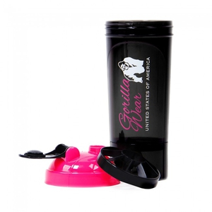 Bilde av Gorilla Wear Shaker Compact 0,5l - Black/Pink -
