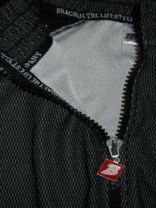 "Bilde av Brachial Zip Sweater ""Image"" Black/grey"