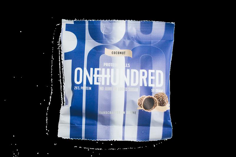 OneToHundred Protein Balls 10x50g - Kokos