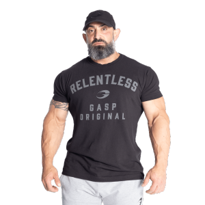Bilde av Gasp Relentless Skull Tee - Sort t-skjorte
