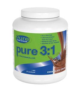 Bilde av Pure 3:1 Proteinpulver 1 kg