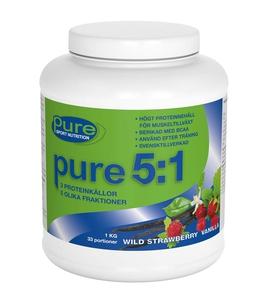 Bilde av Pure 5:1 Proteinpulver 1 kg