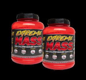 Bilde av 2 x 3 kg Extreme Mass - Hardcore Mass Gainer