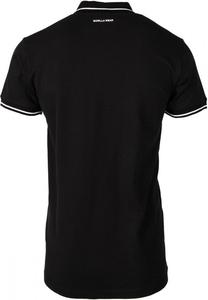 Bilde av Gorilla Wear Delano Polo - Sort/hvit t-skjorte