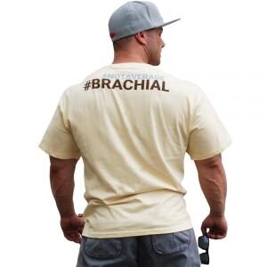 """Bilde av Brachial T-shirt """"Athletic"""" - T-skjorte - Ivory"""