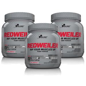 Bilde av 3 for 2 - Olimp Redweiler 3 x 480g - Pre workout