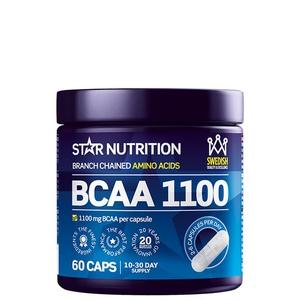 Bilde av Star Nutrition BCAA 1100 - 60 kaps