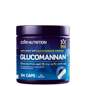 Bilde av Star Nutrition Glucomannan - 84 kaps