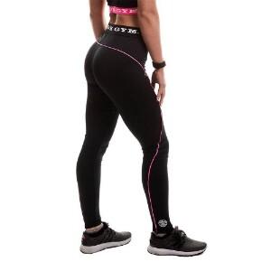 Bilde av Golds Gym Ladies Long Gym Leggings - Svart/Rosa