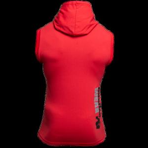 Bilde av Gorilla Wear Melbourne S/L Hooded T-shirt - Red