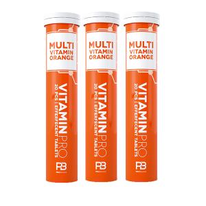 Bilde av 3 for 2 VitaminPro Multivitamin Orange - 3 x 20